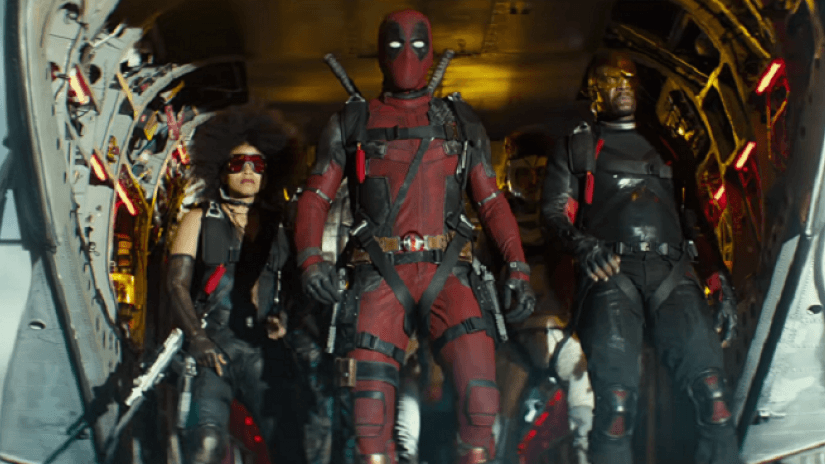 Still form the movie Deadpool 2