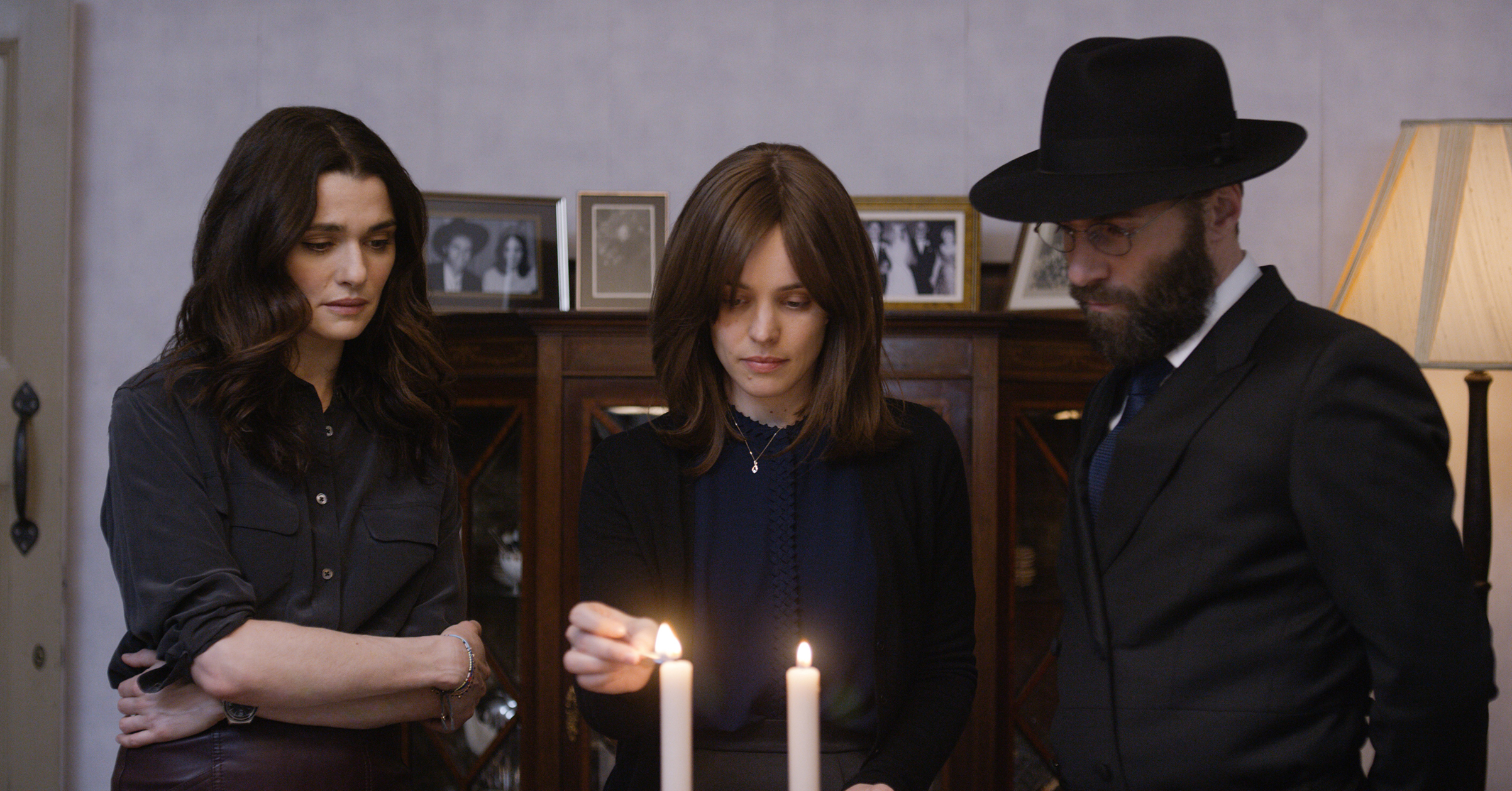 Still from the movie Disobedience.