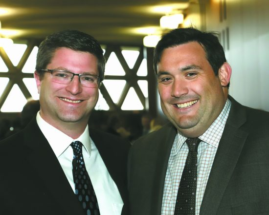 Kadima Executive Director Eric Adelman and Jonathan Modiano, Kadima board member