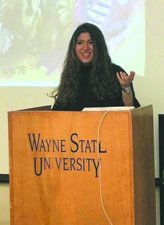 Wayne State University senior Jessica Davidov will head to Israel as a Fulbright scholar.