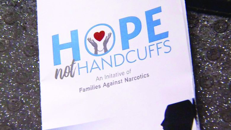 Hope Not Handcuffs Logo