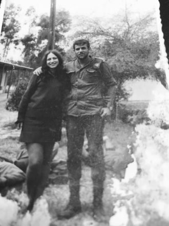Shlomi Hamer of West Bloomfield served in the IDF Paratrooper Brigade from 1971-74.