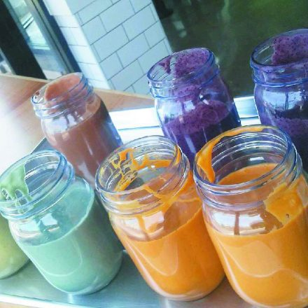 GreenSpace & Go smoothies