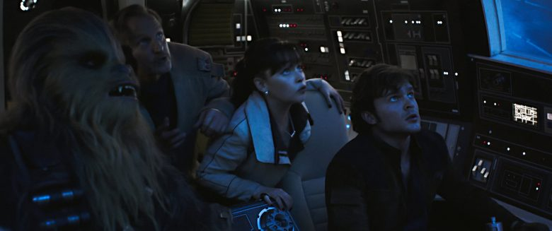 Still from the movie Solo: A Star Wars Movie.