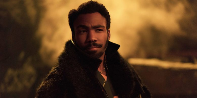 Donald Glover as Lando Calrissian in Solo: A Star Wars Movie