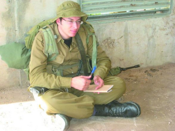 Steve Korn of Southfield, electrician, Israeli Air Force, 2009-11