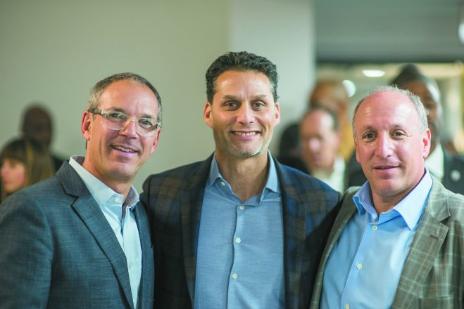 Todd Sachse, Lee Hurwitz and Richard Broder of Broder & Sachse Real Estate.