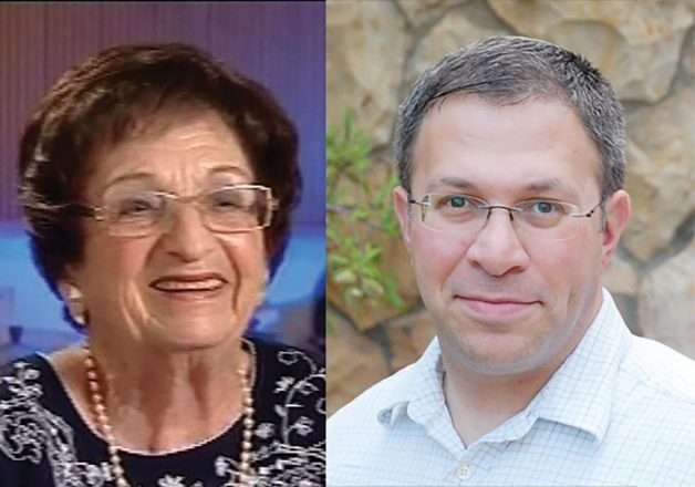 Smuggling grenades: Zipporah Porath was an American student at Hebrew University when she was recruited by the Haganah; Aryeh Halivni (Eric Weisberg) founded Toldot Yisrael to give Israel's national narrative a personal flavor. Photos courtesy of Toldot Yisrael