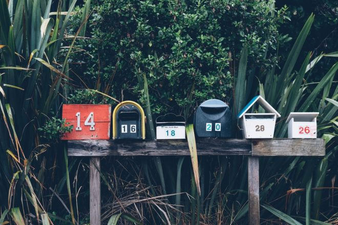 letters, mail, mailbox