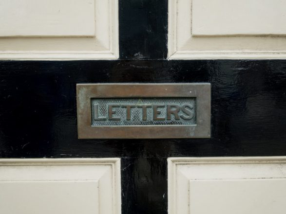 letters, mail, mailbox, letter to the editor, letters about being Anti-Israel