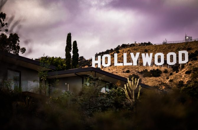 Hollywood sign for Celebrity Jews