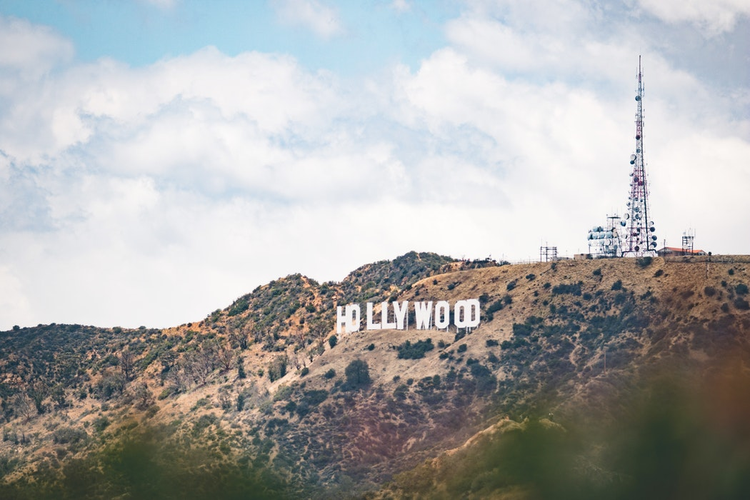 Hollywoods sign for Hollywood's Celebrity Jews