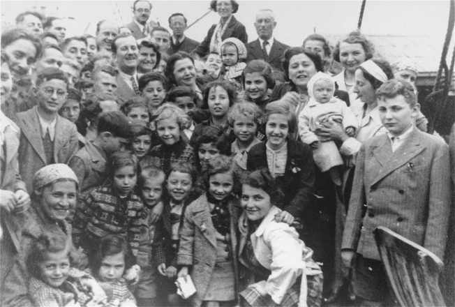 Passengers aboard the MS St. Louis, May 13, 1939-June 17, 1939. On May 13, 1939, the German transatlantic liner St. Louis sailed from Hamburg, Germany, for Havana, Cuba, carrying 937 passengers, the majority of whom were Jewish. When the St. Louis arrived in Havana, the passengers learned that the landing certificates they had purchased were invalid. After Cuba refused to allow the passengers to land and the United States (and other Western Hemisphere nations) did not offer to take the passengers, the ship returned to Europe. The American Jewish Joint Distribution Committee worked with the State Department, ultimately persuading four countries — Great Britain, France, the Netherlands and Belgium — to admit some of the passengers. The remaining 254 were forced to return to Europe and were killed by the Nazis.