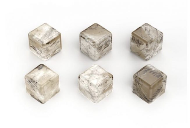Keep spirits cool with Smokey Quartz Whiskey Cubes ($145 for a set of 6) by Anna By RabLabs. Saks Fifth Avenue, Troy. (248) 643-9000; saksfifthavenue.com. Father's Day Gift.