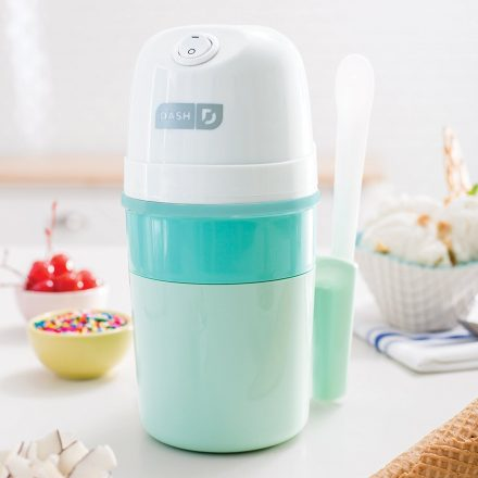 He can experiment with all his favorite flavors to create ice cream, frozen yogurt, sorbet and more with the pint-sized Dash Mini Ice Cream Maker ($30). West Elm, Birmingham. (248) 593-8200; westelm.com. Father's Day Gift.