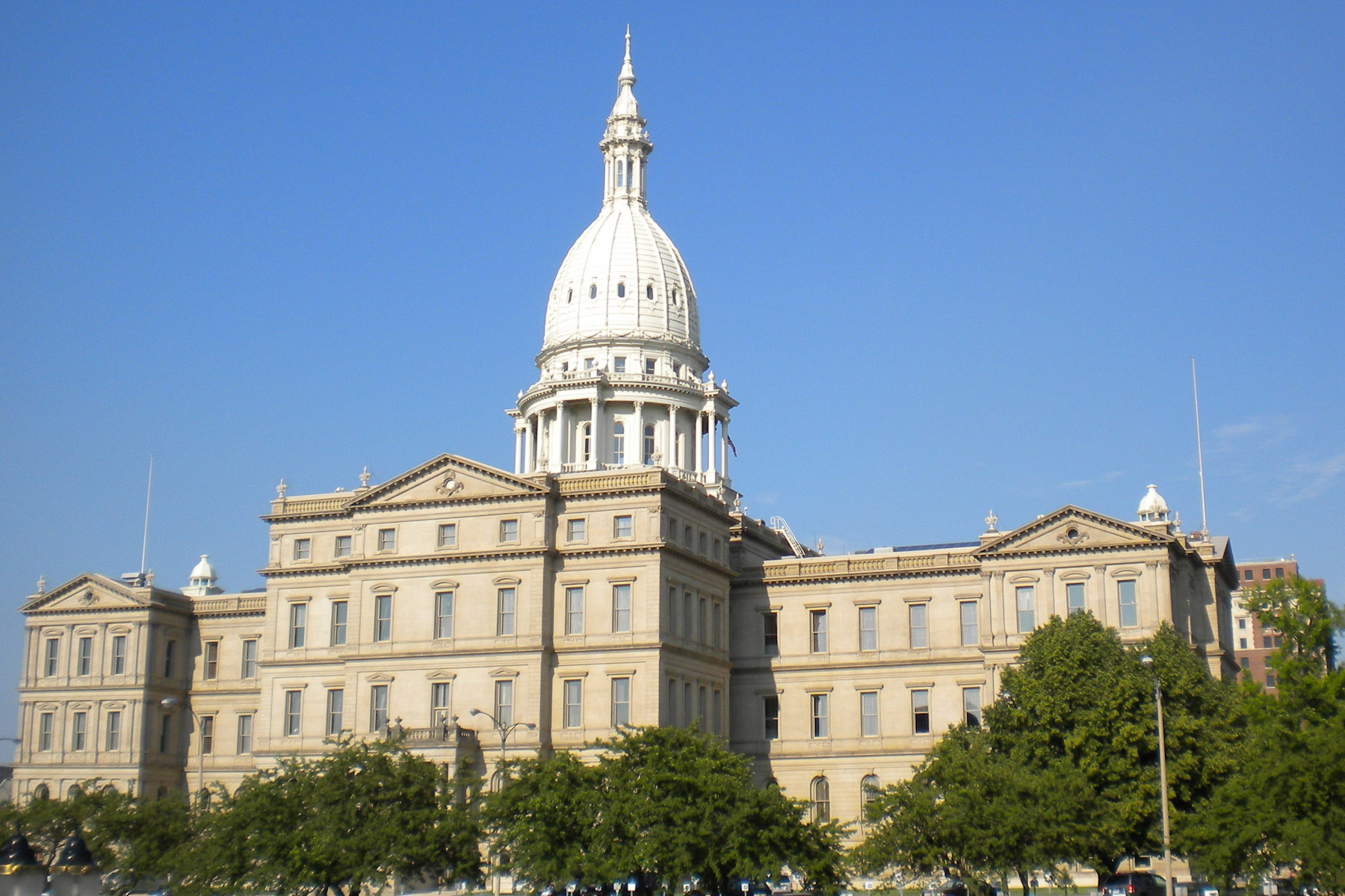 Lansing, Michigan Capitol
