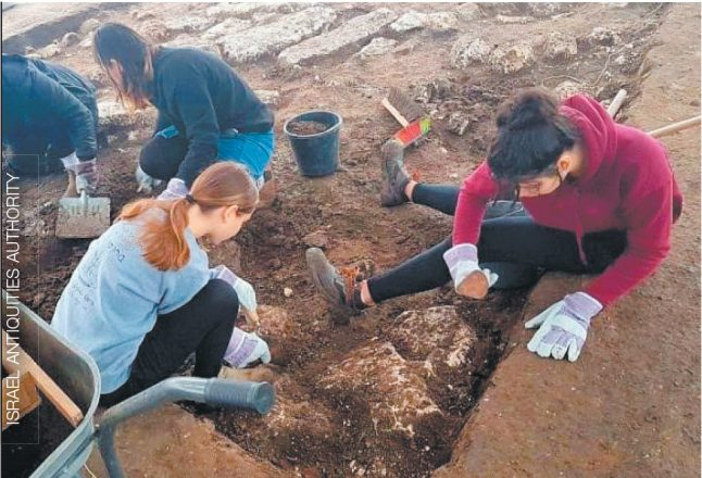 Volunteers from the United States will have the opportunity to work at an archaeological dig in Israel.
