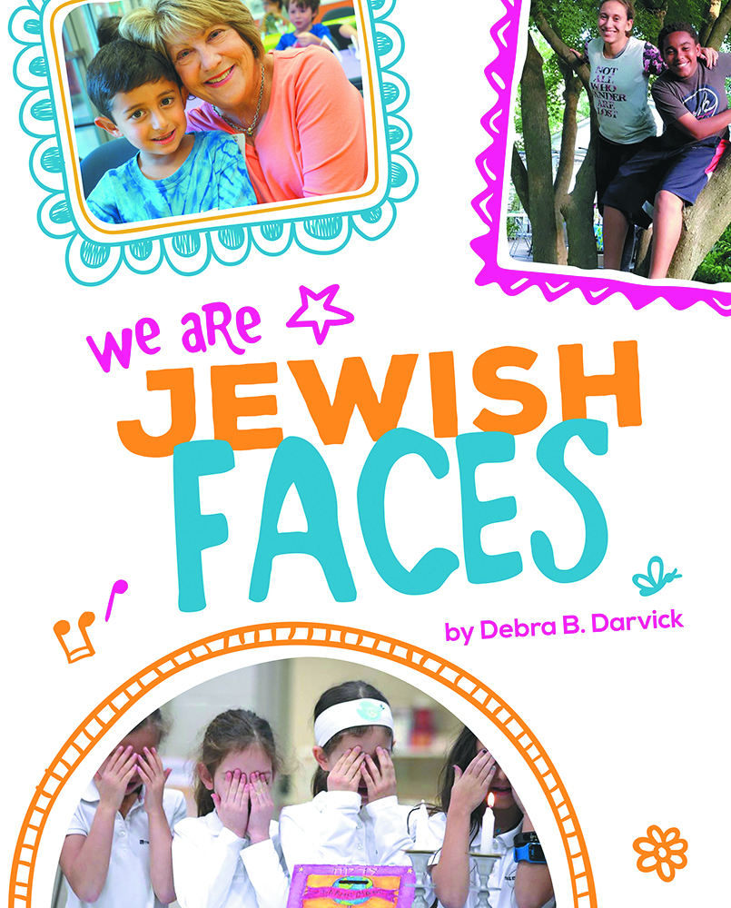 We Are Jewish Faces is a picture book about Jewish Diversity.