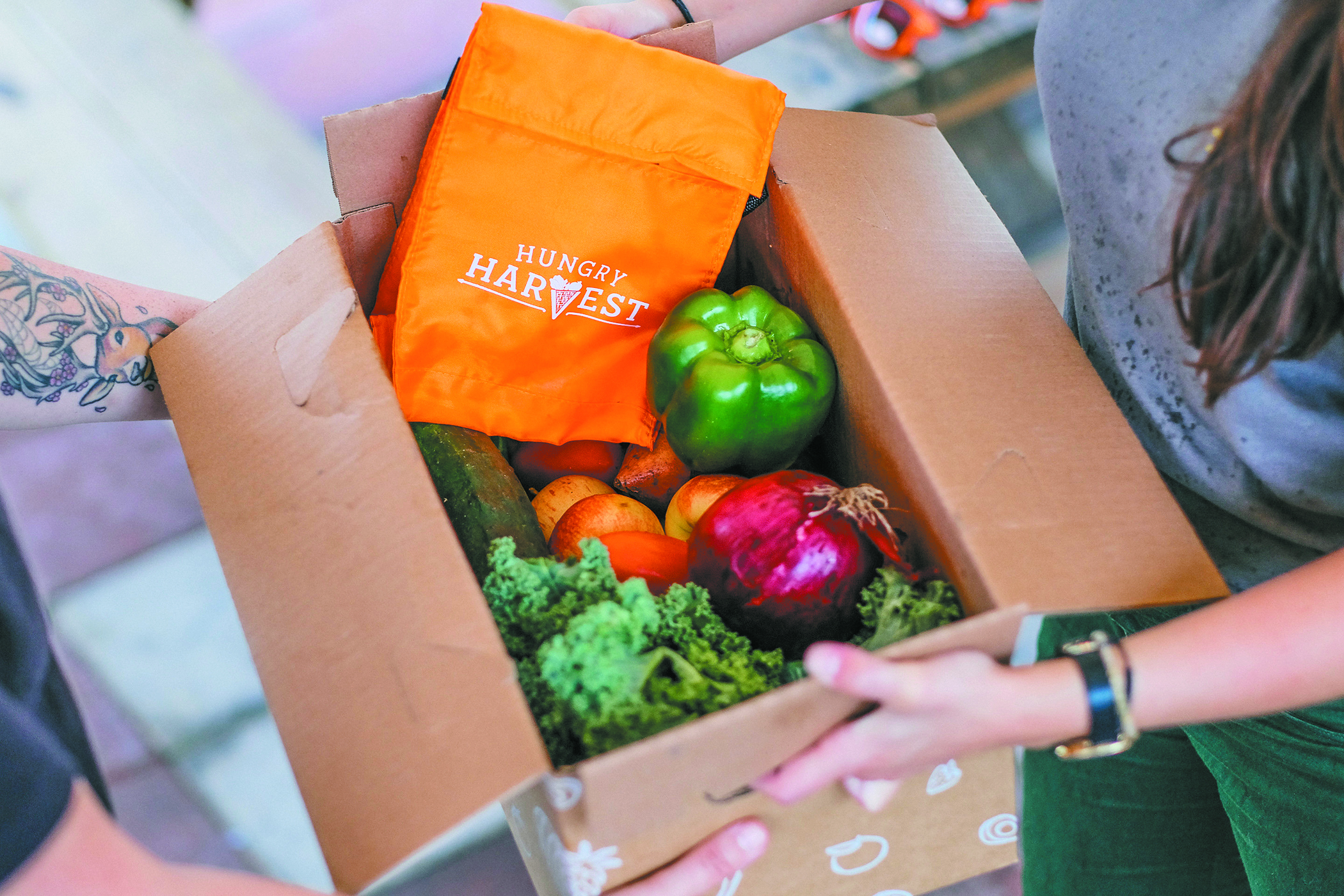 Hungry Harvest zero food waste