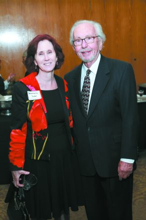 Bernadette Dore, Project Healthy Community's new executive director, and Dr. Melvyn Rubenfire