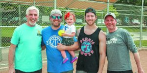 Softball League Is A Family Affair