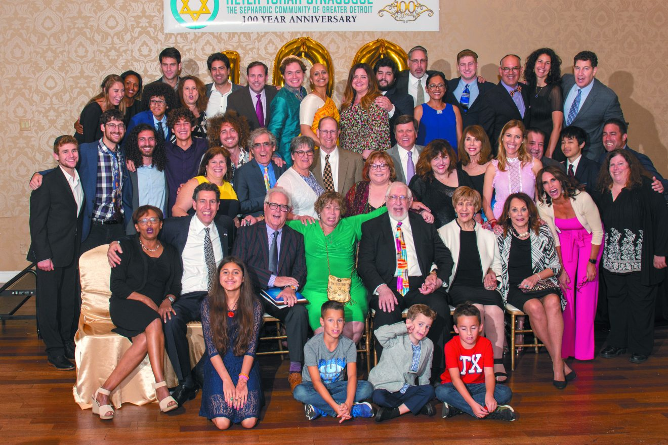 Descendants of Judith and Jacob Chicorel at the 100th anniversary gala. Photo credit: Brian Masserman