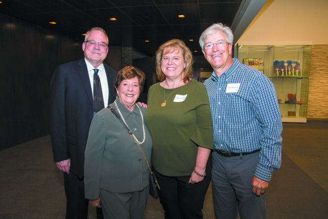 Mike Smith, Dorothy Collens and Cathy and Paul Edwards