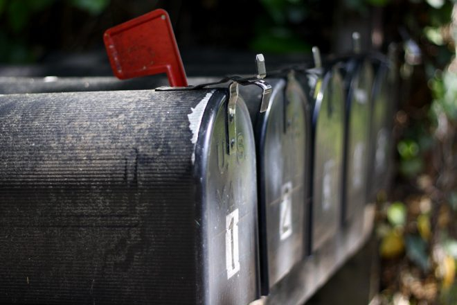 mailbox, mail, letters, letters to the editor