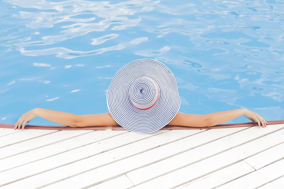sunscreen products sun protection pool sun hat