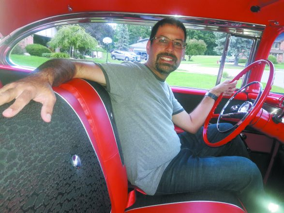 Gertner has racked up more than 3,000 miles this season going to cruise-ins and car shows.