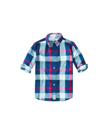 Abercrombie Kids CLASSIC BUTTON UP SHIRT ($34.95) Area Abercrombie Kids stores. Abercrombie.com.