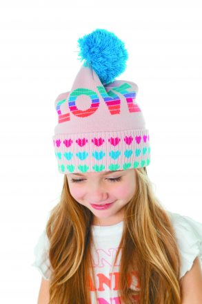Chaser LOVE BEANIE ($32). Perfect Trading, Bloomfield Hills. (248) 792-5949.
