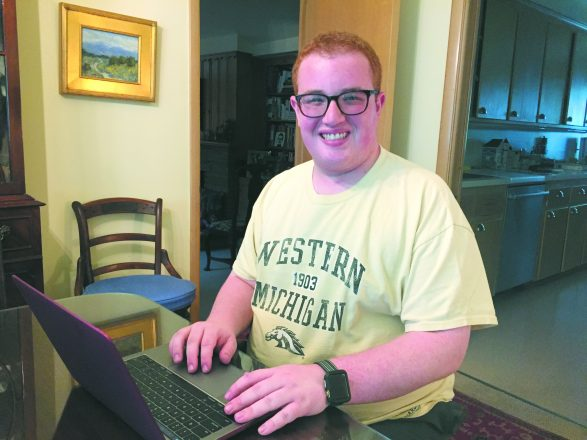 Ben Gretchko's successful first year at college included a 3.77 GPA, making the Dean's List, receiving an invitation to the Honors College as well as partaking fully in student life. He is studying journalism.