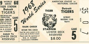 Reliving the Tigers' '68 World Series Win
