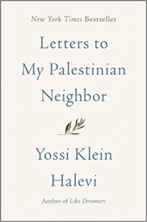Letters to My Palestinian Neighbor by Yossi Klein Halevi book cover