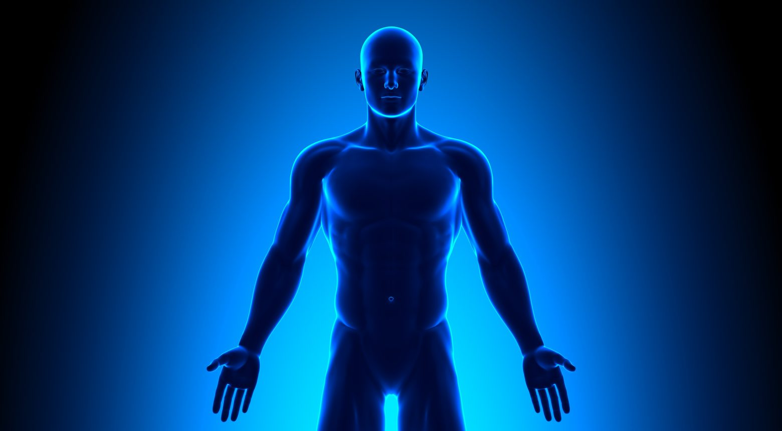 Full Body - Front View Blue concept