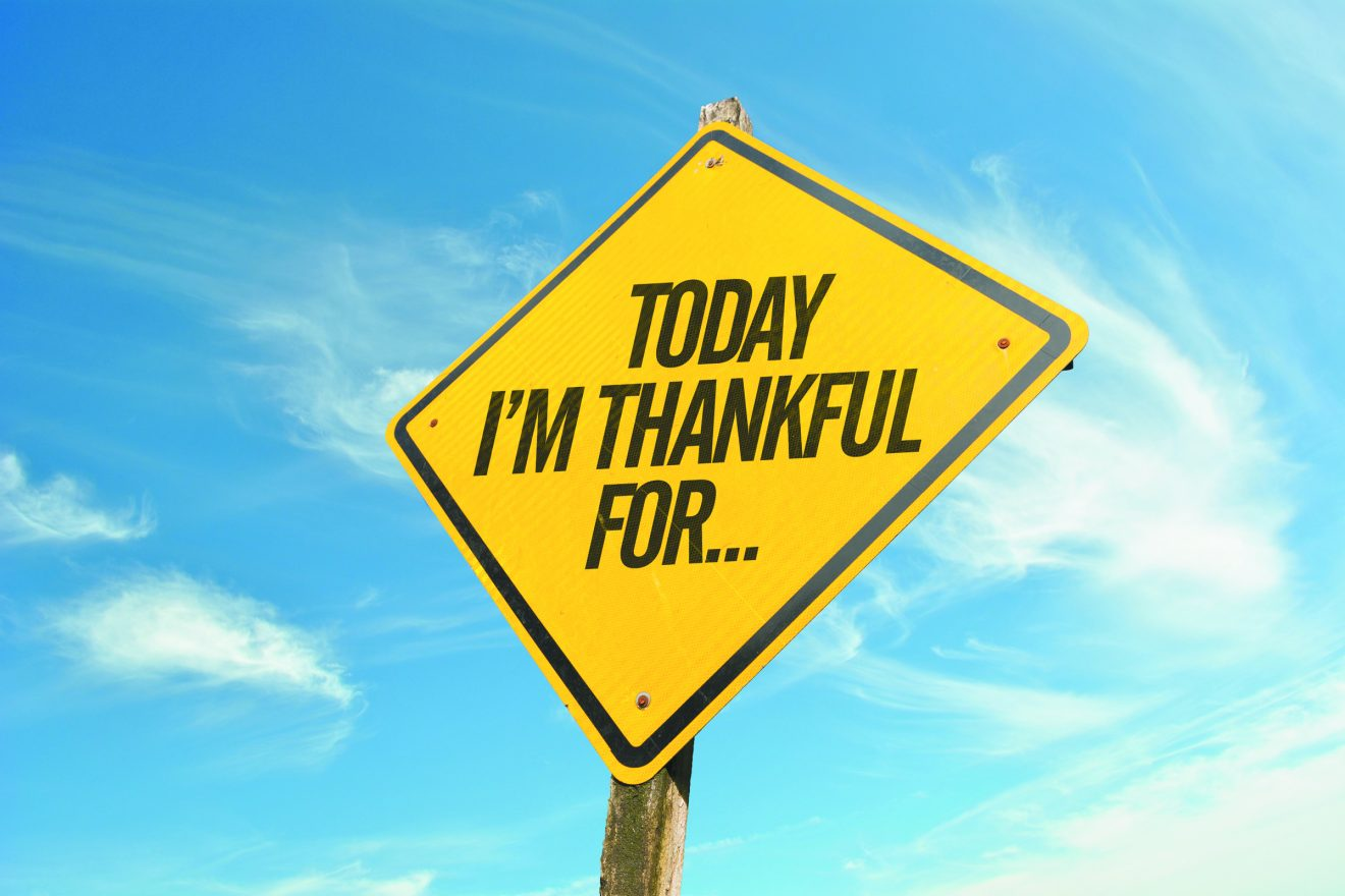 Today Im Thankful For... sign. Baruch HaShem
