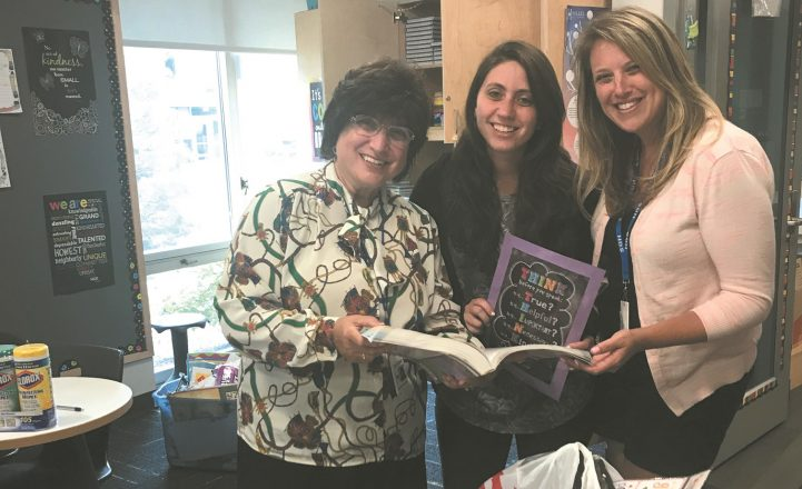 Hillel teachers are busy setting up their learning communities. There are many new initiatives at HDS, one of which is expanding the Jewish preschool