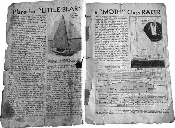 Kusnetz clipped the plans for the 10-foot sailboat from a magazine more than 75 years ago.