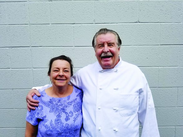 Karen and Tom Moro of Moro's Dining