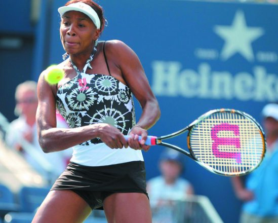 Venus Williams wore Oram's design to the 2010 U.S. Open.