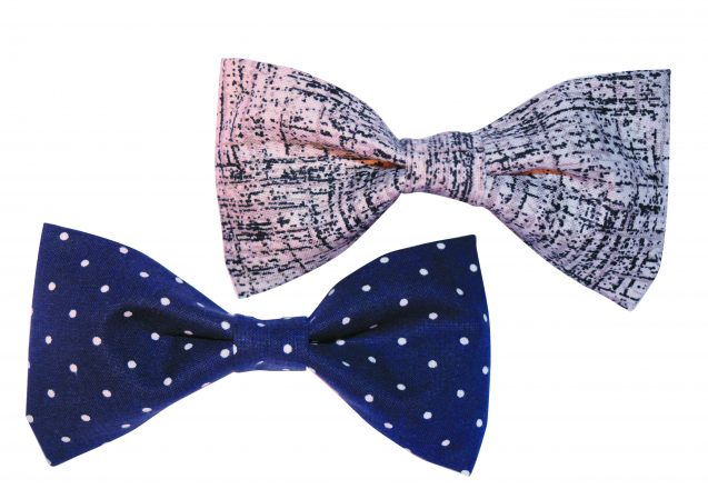Handmade bow ties.