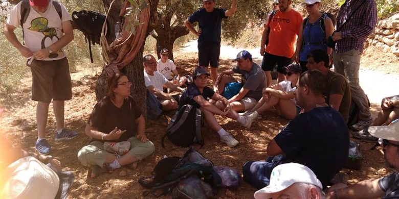 A delegation of rabbis from Israel and around the globe visited the Arab village of Husan last month.