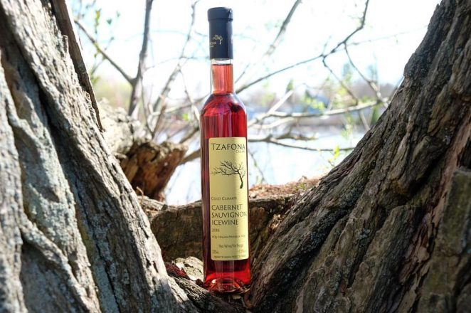 Tzafona Ice Wine Cabernet Sauvignon 2016 (MSRP $49.99), an authentic ice wine grown from grapes in Canada's Niagara Peninsula, is a great pick for the holidays. Sweet wine from Royal Wine Corp.