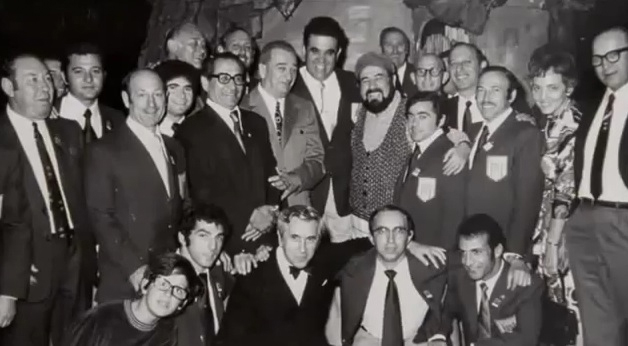 On the evening of September 4th, hours before the attack, the Israeli Olympic team attended a performance of Fiddler on the Roof and posed for the above picture with the play's cast. Israeli Olympics team in the Summer Munich Olympics in 1972