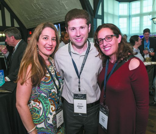 Julie Marx of Bloomfield Hills, and Jason Miller and Beth Miller, both of Birmingham