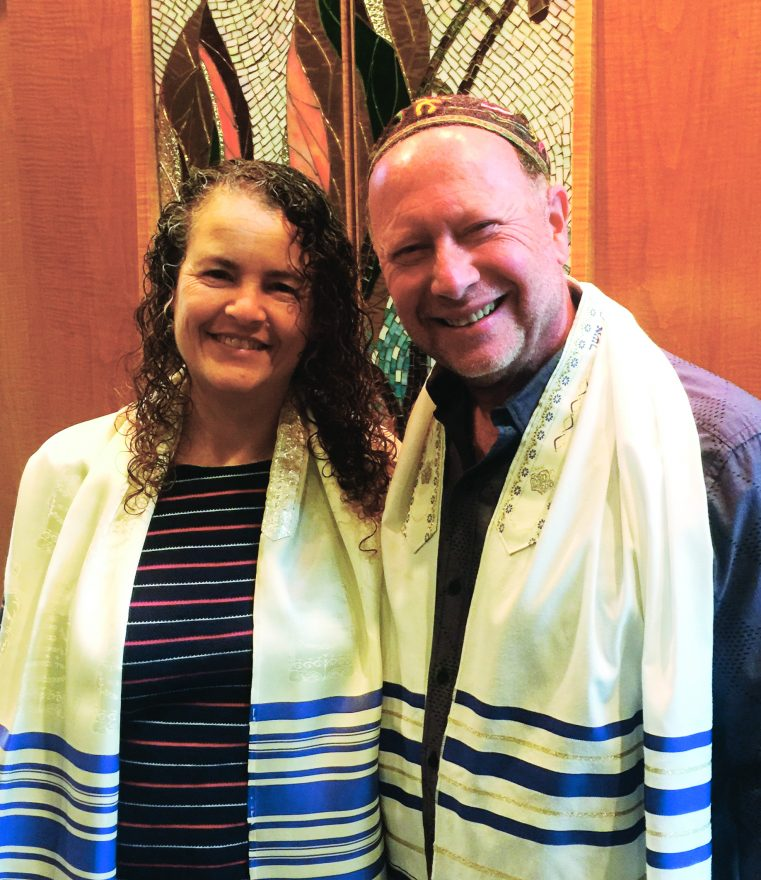 Rabbis Ahuvia and Sleutelberg