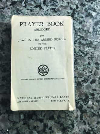 Fishman's Armed Forces prayer book.