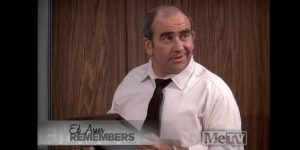 Ed Asner on the 'Mary Tyler Moore Show'
