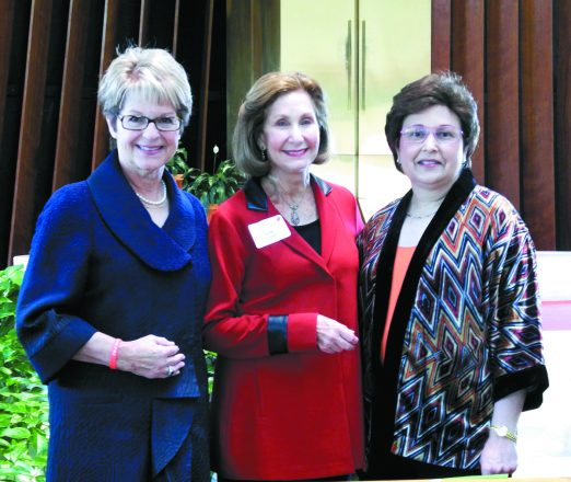 Cancer Thrivers Network founders: Michelle Passon, Sandy Schwartz and the late Patti Nemer.